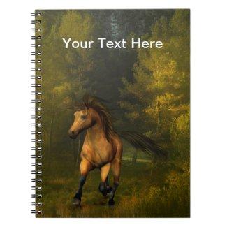 Buckskin Horse Notebook notebook