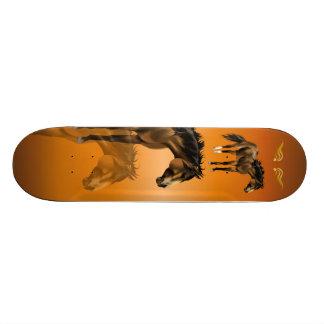 Buckskin Horse Skateboard