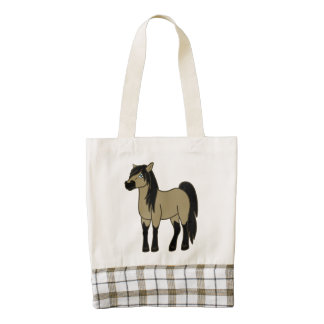 Buckskin Horse Zazzle HEART Tote Bag