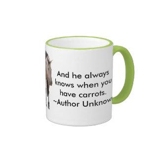 Buckskin Love Ringer Mug