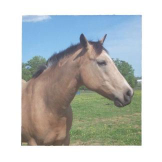 Buckskin Mustang Notepad
