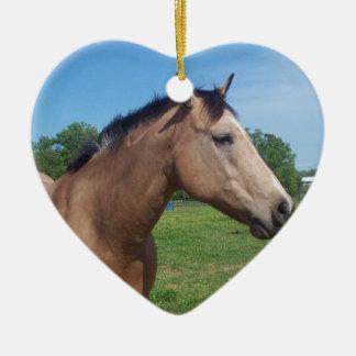 Buckskin Mustang Ornament