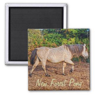 Buckskin New Forest Pony Wildlife Magnet