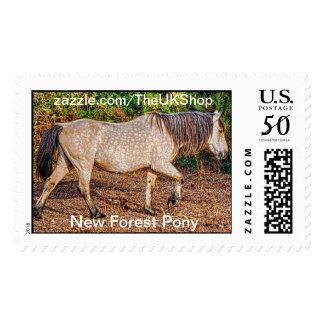 Buckskin New Forest Pony Wildlife Postage