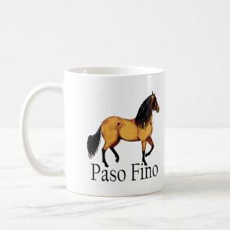 Buckskin Paso Fino Horse mug