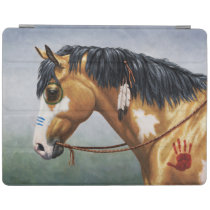 Buckskin Pinto Native American War Horse iPad Smart Cover