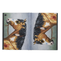 Buckskin Pinto Native American War Horse Powis iPad Air 2 Case