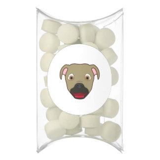 Buckskin Pitbull Chewing Gum Favors