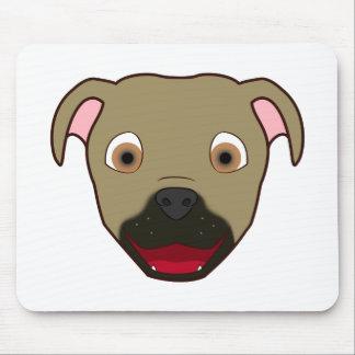Buckskin Pitbull Mouse Pad