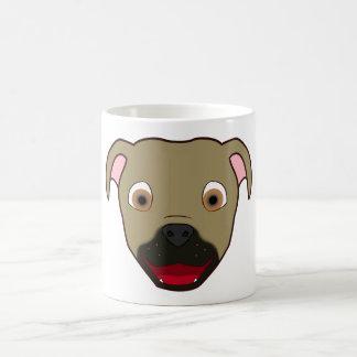 Buckskin Pitbull Classic White Coffee Mug