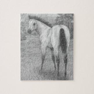 Buckskin Quarter Horse Puzzle