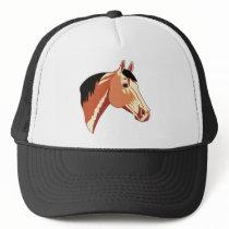 Buckskin Quarter Horse Trucker Hat