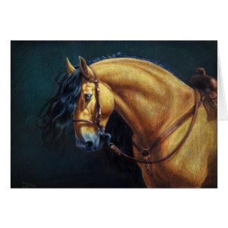 Buckskin Stallion Card