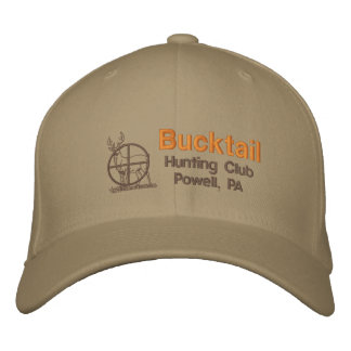 Bucktail Hunting Club Embroidered Hat