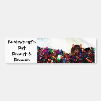 Buckwheat's Rat Resort & Rescue Bumper Stickers