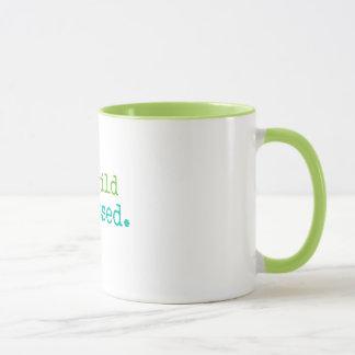 Buckwild Blessed Lime Rimmed Mug