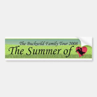 buckwild_summeroflove car bumper sticker