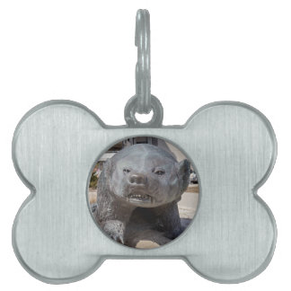 bucky badger pet ID tag