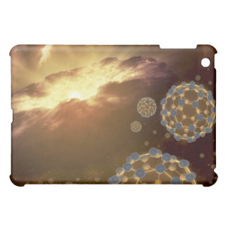 Buckyballs floating in interstellar space iPad mini covers
