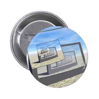 Bucle infinito de los monitores surrealistas pins
