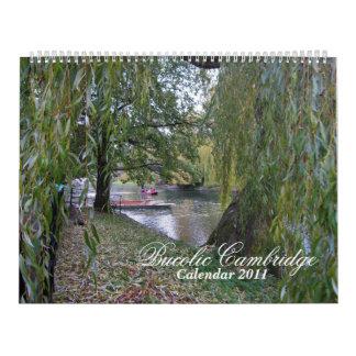 Bucolic Cambridge Calendar
