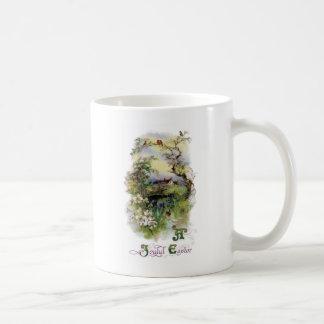 Bucolic Farm in Bloom Vintage Easter Coffee Mug