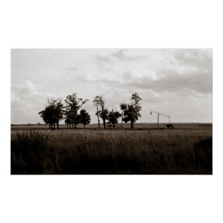 Bucolic View Poster