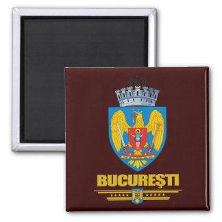 Bucuresti (Bucharest) COA 2 Inch Square Magnet