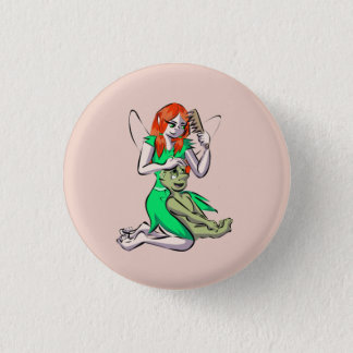 Bud and Willowdrop Button