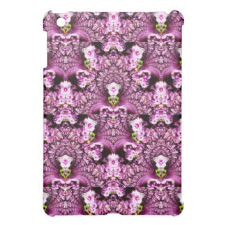 Bud-Encrusted Pink Cherry Blossoms Abstract Design iPad Mini Covers
