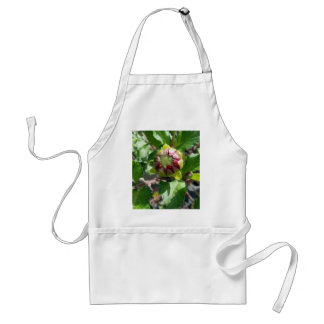 bud in autumn adult apron
