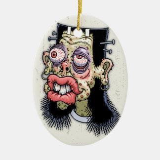 Bud of Frankenstein Ceramic Ornament