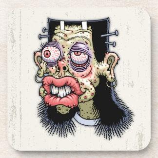 Bud of Frankenstein Drink Coaster