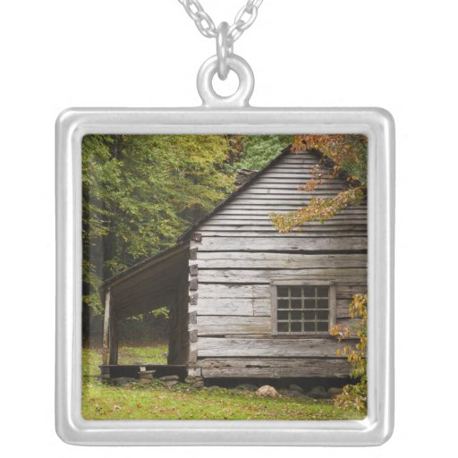 Bud Ogle House, Great Smoky Mountains National Personalized Necklace