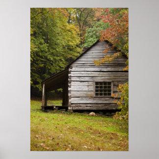 Bud Ogle House, Great Smoky Mountains National Poster