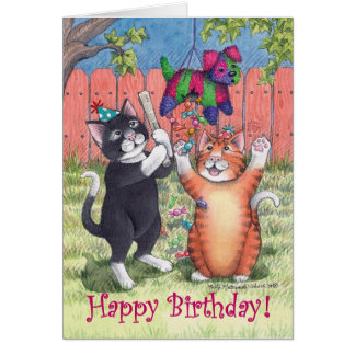 Bud & Tony #71 Happy Birthday Notecard