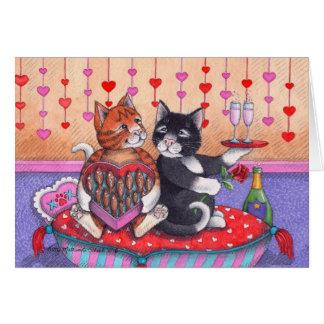 Bud & Tony #74 Valentine's Day Notecard Cards
