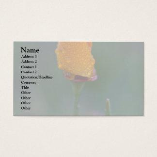 Bud Yellow Business Card