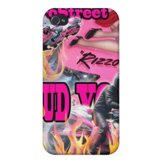 Bud Yoder Pink Pro Street Hayabusa Cell Phone case iPhone 4/4S Cases