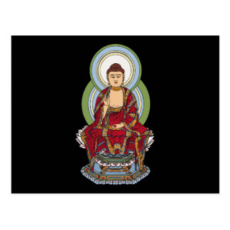 Buda Abhaya Mudra Postales