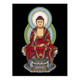 Buda Abhaya Mudra Tarjetas Postales