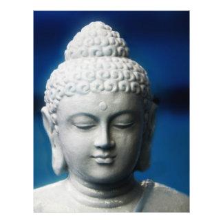 Buda - aclarado folleto 21,6 x 28 cm