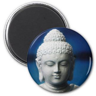 Buda - aclarado imán redondo 5 cm