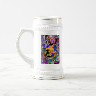 Buda aclarado jarra de cerveza