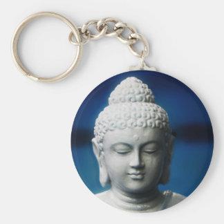 Buda - aclarado llavero redondo tipo chapa