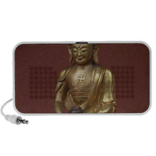 Buda Amitayus asentado en la meditación Mini Altavoces