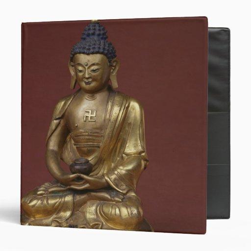 Buda Amitayus asentado en la meditación