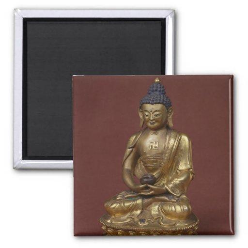 Buda Amitayus asentado en la meditación Imanes Para Frigoríficos