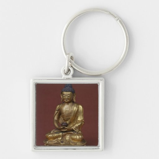 Buda Amitayus asentado en la meditación Llaveros