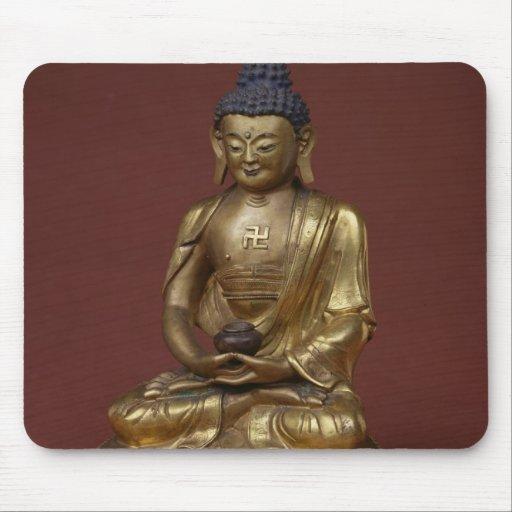 Buda Amitayus asentado en la meditación Tapete De Ratón